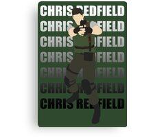 Chris Redfield  Resident Evil Remake version Canvas Print