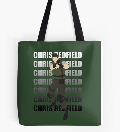 Chris Redfield  Resident Evil Remake version Tote Bag