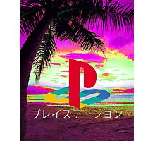 Playstation Photographic Print