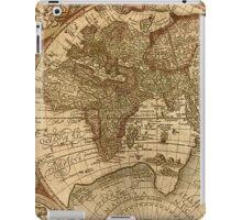 OLD MAP #01 iPad Case/Skin
