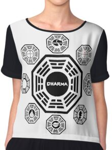 Lost Dharma Station Chiffon Top