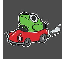 MOTHER 3 FROG IN A CAR - earthbound Photographic Print
