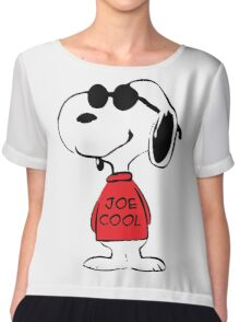 Snoopy Joe Cool Chiffon Top