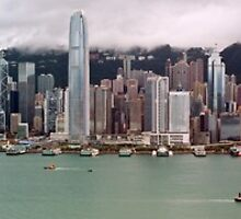 Hong Kong Skyline  by MichaelKe