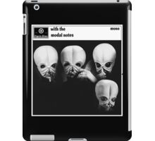 Figrin D'an : With The Modal Notes iPad Case/Skin