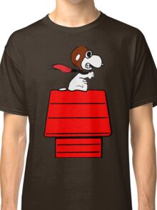 Aviator Snoopy Classic T-Shirt