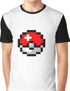 8bit Pokeball Graphic T-Shirt