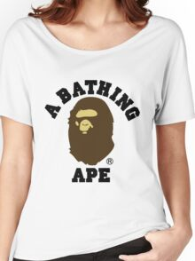 A BATHING APE Women's Relaxed Fit T-Shirt