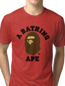 A BATHING APE Tri-blend T-Shirt