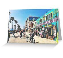 Hello Venice  Greeting Card