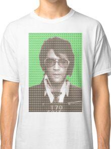 Elvis Mug Shot - Green Classic T-Shirt