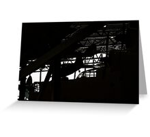 Aviation silhouette Greeting Card
