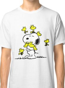 Woodstock loves Snoopy Classic T-Shirt