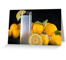 When Life Hands You Lemons II Greeting Card
