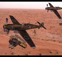 North Africa 1943 by tomandersonart