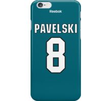 San Jose Sharks Joe Pavelski Jersey Back Phone Case iPhone Case/Skin