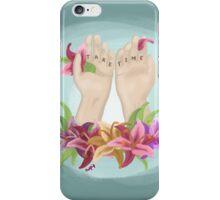 Take Time iPhone Case/Skin