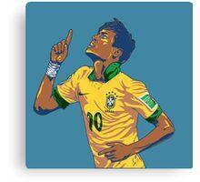 Neymar Jr Canvas Print