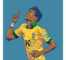Neymar Jr Photographic Print