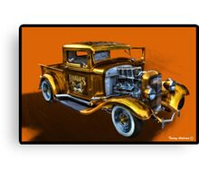 Smoking Ford Canvas Print