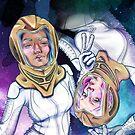 Space Selfies by KatArtDesigns