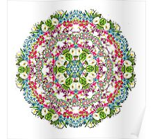 Romantic  Floral Pattern Poster