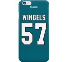 San Jose Sharks Tommy Wingels Jersey Back Phone Case iPhone Case/Skin