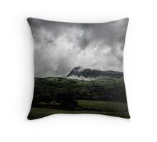 Clouds over Cader Idris Throw Pillow