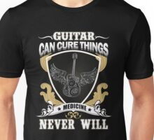 Guitar - Guitar Can Cure Things Unisex T-Shirt