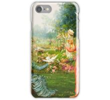 COURTYARD CHEER iPhone Case/Skin