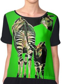 Okapi and Child Chiffon Top