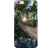 Enjoying nature iPhone Case/Skin