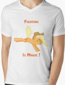 Fighting is Magic ! Mens V-Neck T-Shirt
