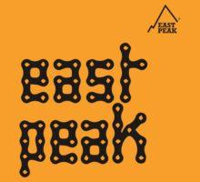 Tour de France tshirt - Bike Chain East Peak by springwoodbooks
