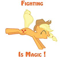 Fighting is Magic ! Photographic Print