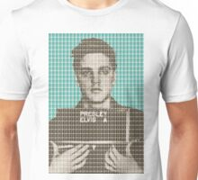 Elvis Army Mug Shot - Light Blue Unisex T-Shirt