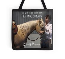 Get wired into their mind horsemanship Tote Bag