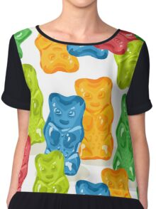 Gummy Bears Gang Chiffon Top
