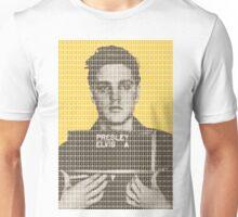 Elvis Army Mug Shot - Yellow Unisex T-Shirt
