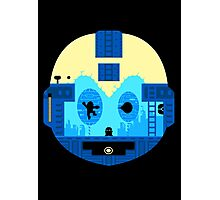 Retro Game Robot Photographic Print