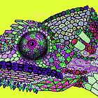 Panther Chameleon!  by paddlesworth