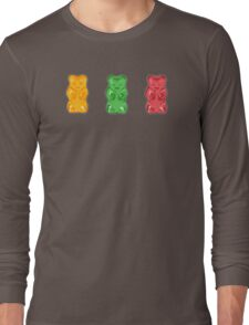 Vivid Gummy Bears Long Sleeve T-Shirt