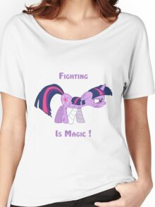 Fighting is Magic ! Women's Relaxed Fit T-Shirt