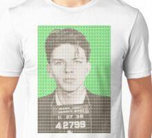 Sinatra Mug Shot - Green Unisex T-Shirt