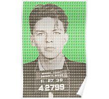 Sinatra Mug Shot - Green Poster