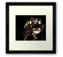 Cat Bus  Framed Print