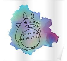 Color Full Totoro Poster