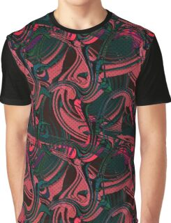 Abstraction . Wave Graphic T-Shirt