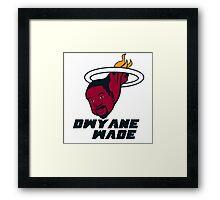 Dwyane Wade - Miami Heat Framed Print