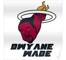 Dwyane Wade - Miami Heat Poster